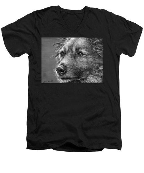Old Charlie Men's V-Neck T-Shirt