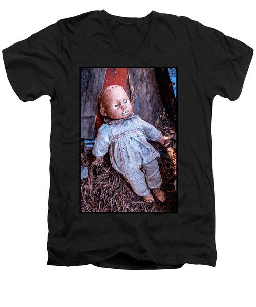 Old Doll Men's V-Neck T-Shirt