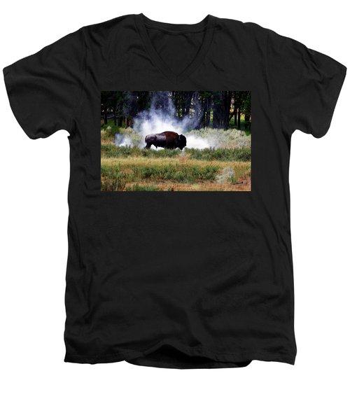 Old Dusty Men's V-Neck T-Shirt