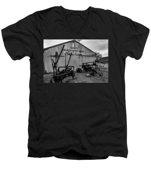 Old Frisco Blacksmith Shop Men's V-Neck T-Shirt
