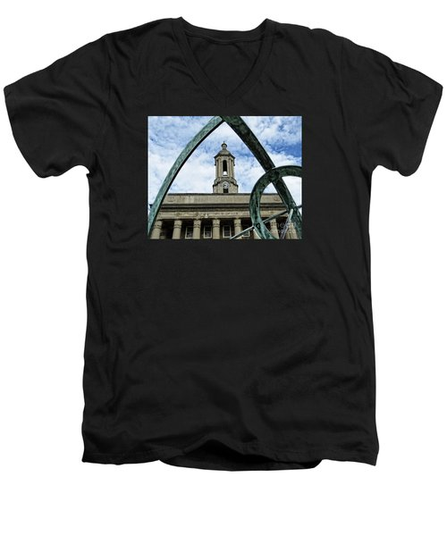 Old Main Thru The Turtle Men's V-Neck T-Shirt