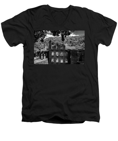 old Mill 3 Men's V-Neck T-Shirt