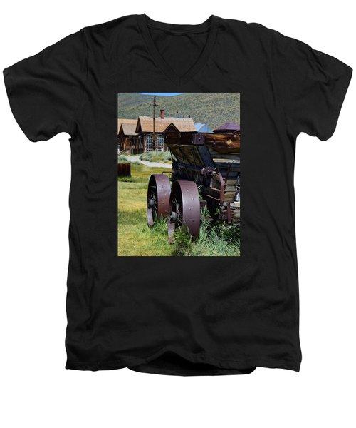 Old Mine Cart Men's V-Neck T-Shirt
