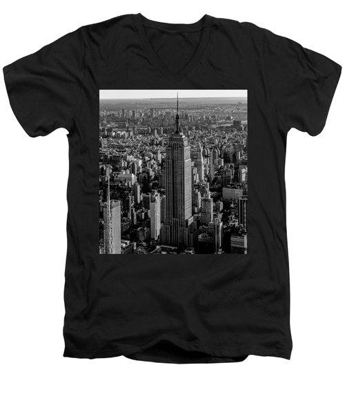 Old New York  Men's V-Neck T-Shirt