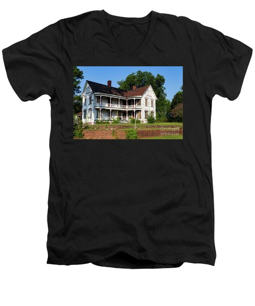 Old Shull Mansion Men's V-Neck T-Shirt