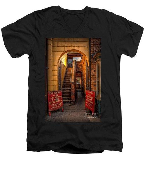 Old Signs Men's V-Neck T-Shirt