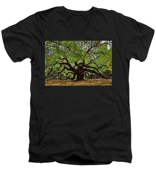 Old South Men's V-Neck T-Shirt