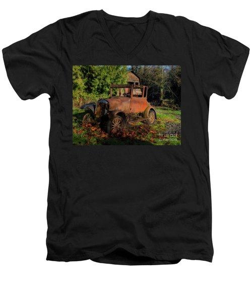 Old Timer Men's V-Neck T-Shirt