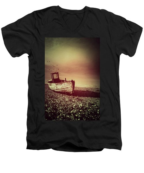 Old Wooden Boat Men's V-Neck T-Shirt