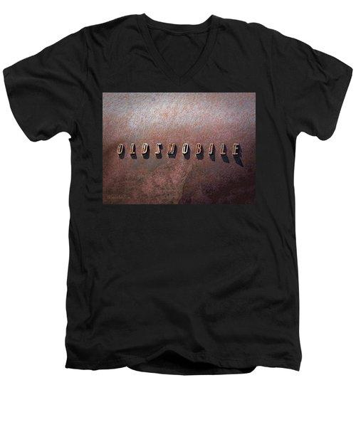 Oldsmobile Men's V-Neck T-Shirt by LeeAnn McLaneGoetz McLaneGoetzStudioLLCcom