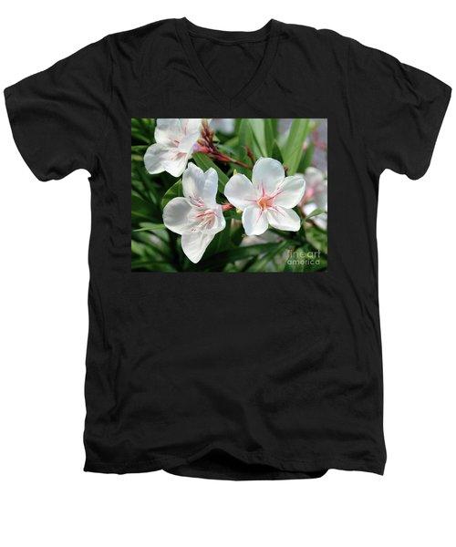 Oleander Harriet Newding 3 Men's V-Neck T-Shirt