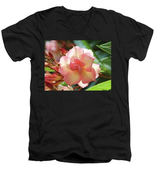 Oleander Mrs. Roeding 1 Men's V-Neck T-Shirt