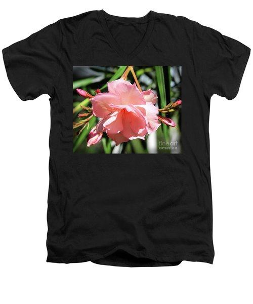 Oleander Mrs. Roeding 3 Men's V-Neck T-Shirt