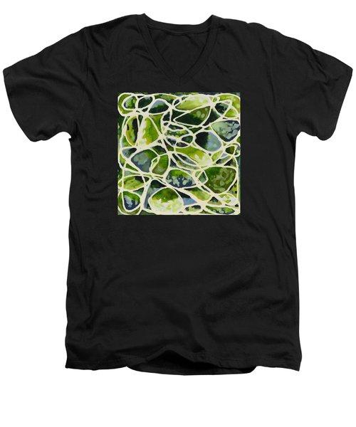 Olive Pot Men's V-Neck T-Shirt