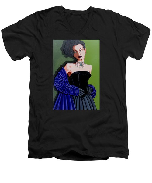 Olivia Men's V-Neck T-Shirt