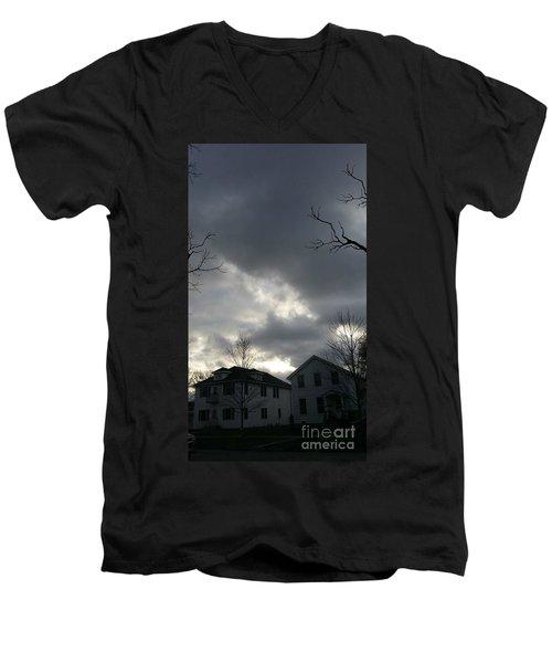 Ominous Clouds Men's V-Neck T-Shirt