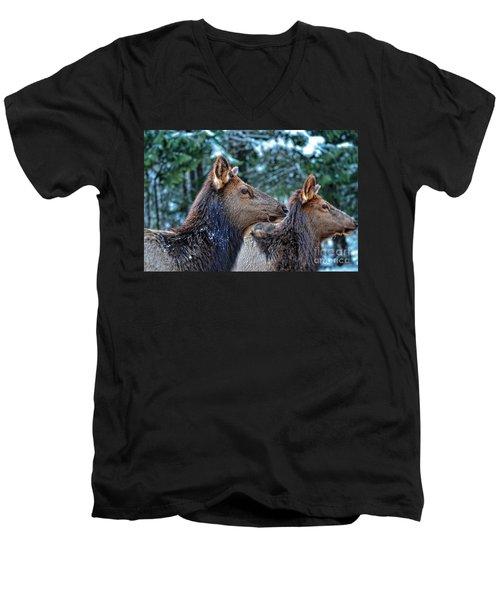 On Alert Men's V-Neck T-Shirt