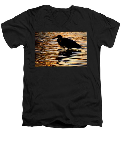 On Golden Pond Men's V-Neck T-Shirt
