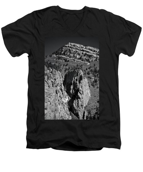 On Sandia Mountain Men's V-Neck T-Shirt