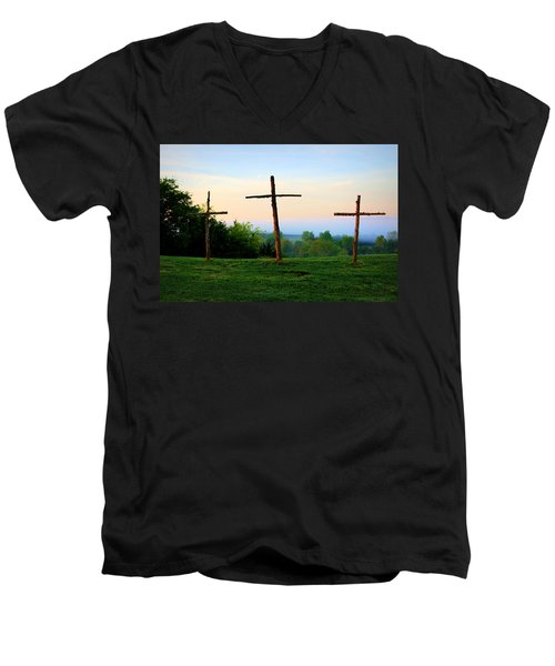 On The Hill Men's V-Neck T-Shirt