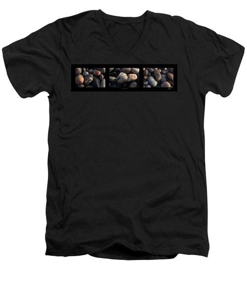 On The Rocks  Men's V-Neck T-Shirt