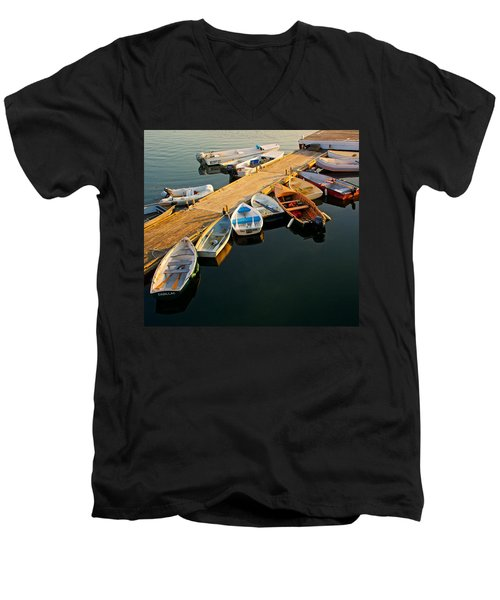 On The Waterfront IIi Men's V-Neck T-Shirt