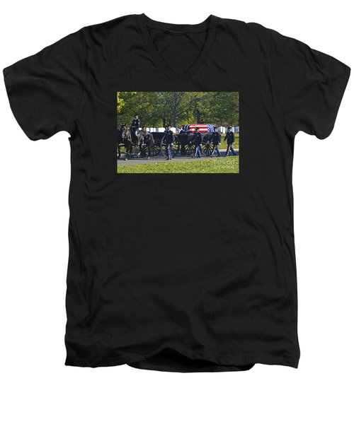 On Their Way To Rest Men's V-Neck T-Shirt