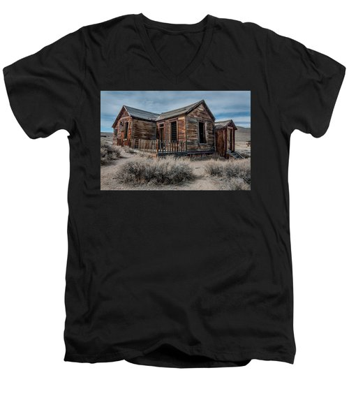Once A Home Men's V-Neck T-Shirt by Ralph Vazquez