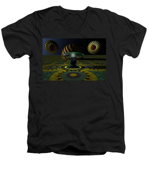 One Last Dream Before Dawn Men's V-Neck T-Shirt