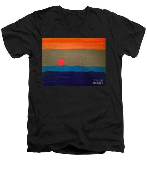 One Moment Men's V-Neck T-Shirt