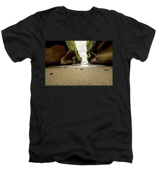 Only At Low Tide Men's V-Neck T-Shirt
