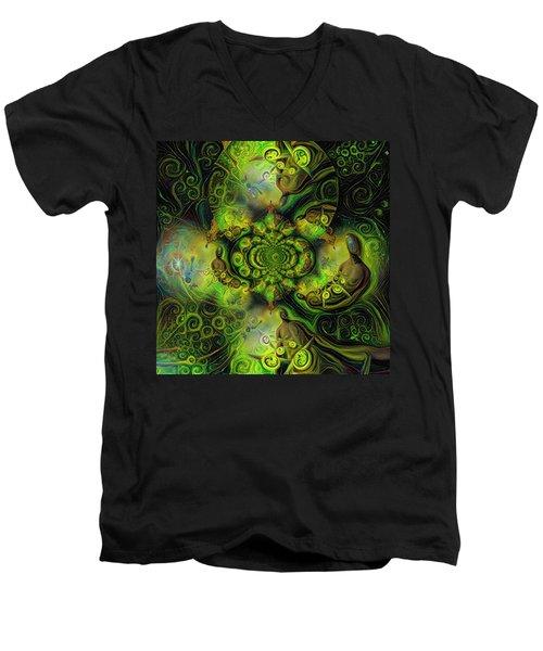 Open Mind Men's V-Neck T-Shirt