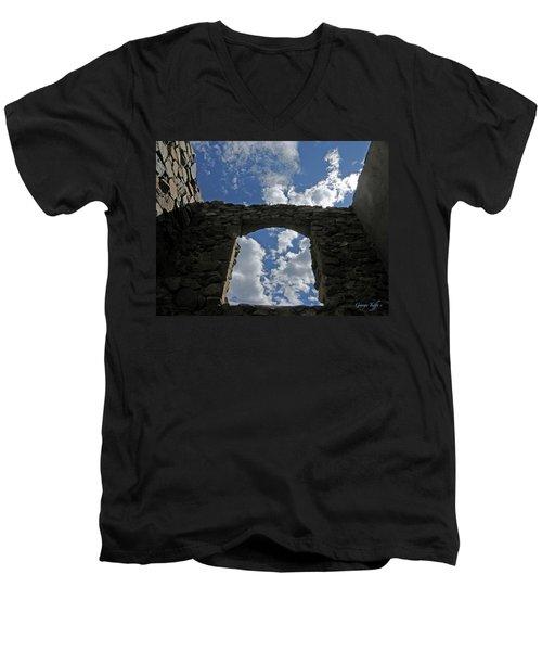 Open To The Sky Men's V-Neck T-Shirt
