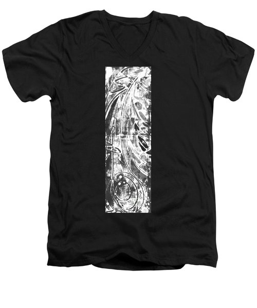 Opportunity Men's V-Neck T-Shirt by Carol Rashawnna Williams