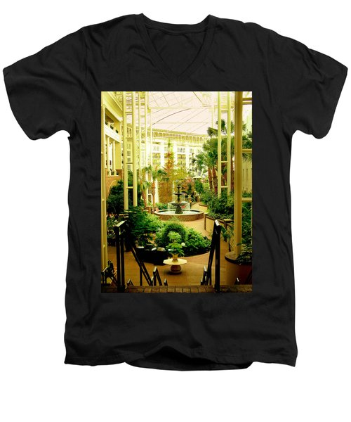 Opryland Hotel Men's V-Neck T-Shirt
