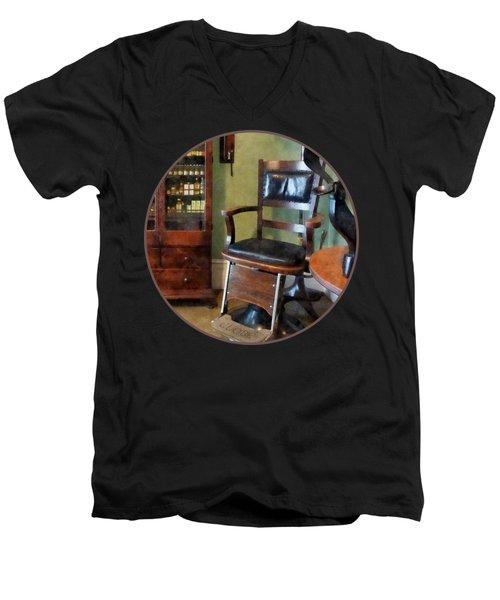 Optometrist - Eye Doctor's Office Men's V-Neck T-Shirt by Susan Savad