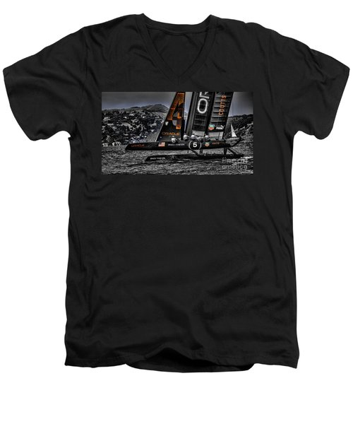Oracle Winner 34th America's Cup Men's V-Neck T-Shirt