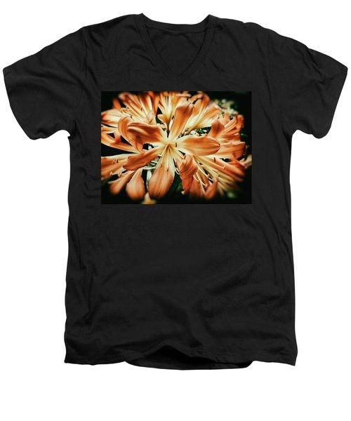 Orange Crush Men's V-Neck T-Shirt