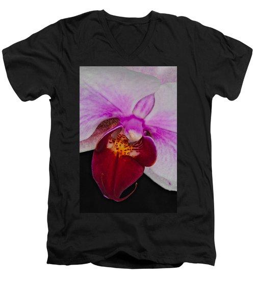 Orchid 376 Men's V-Neck T-Shirt