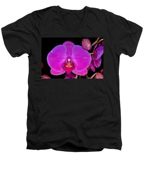 Orchid 424 Men's V-Neck T-Shirt