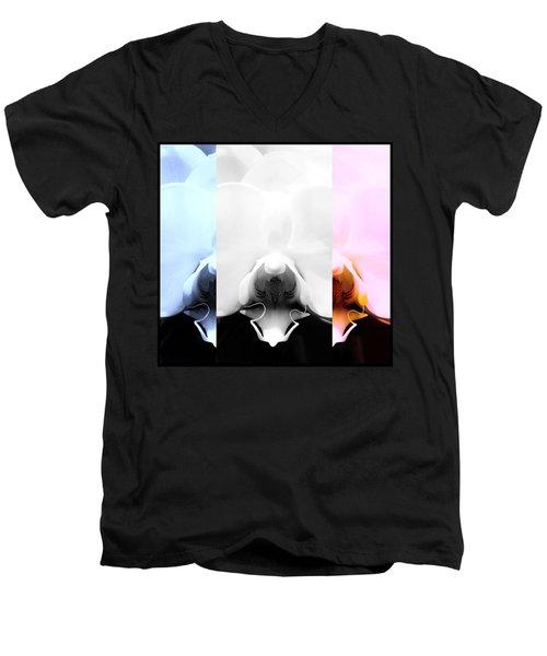 Orchid Odyssey Men's V-Neck T-Shirt