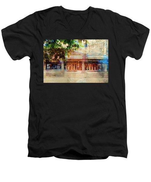 Ordway Center Men's V-Neck T-Shirt