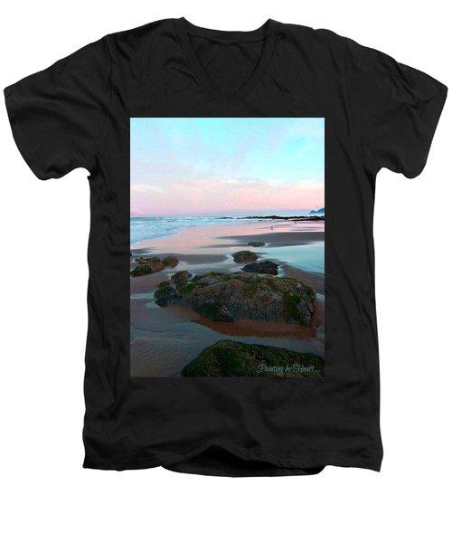 Oregon Coast 2 Men's V-Neck T-Shirt
