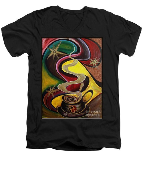 Organo Gold Men's V-Neck T-Shirt
