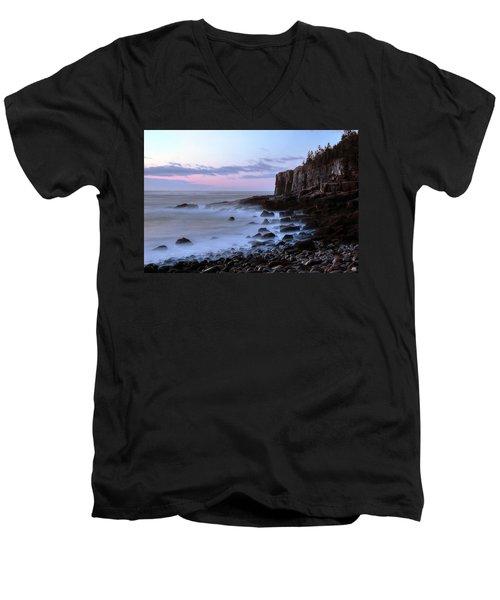Otter Cliff Awash Men's V-Neck T-Shirt