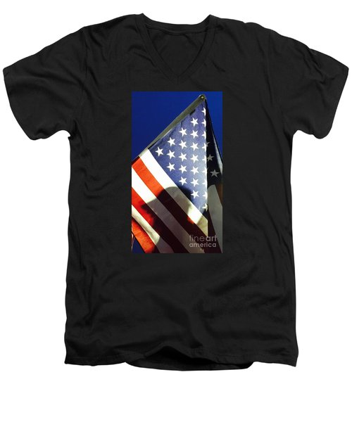 Our Fallen - No. 2015 Men's V-Neck T-Shirt