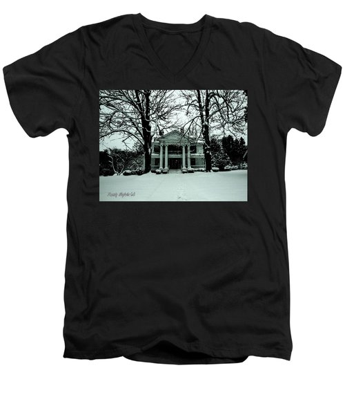 Our House Men's V-Neck T-Shirt