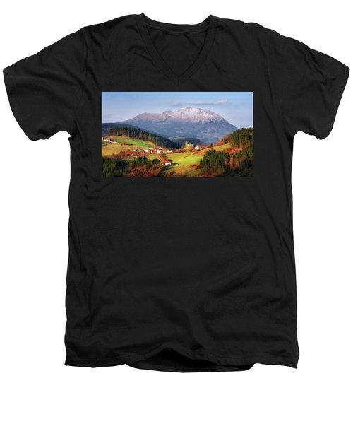 Our Little Switzerland Men's V-Neck T-Shirt