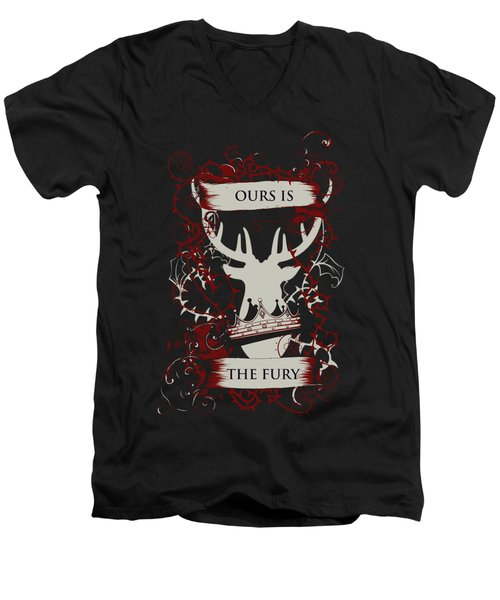 Ours Is The Fury Men's V-Neck T-Shirt