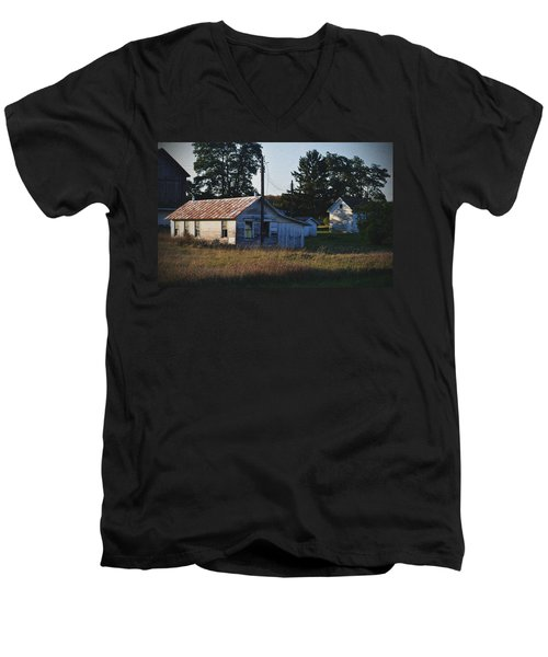 Out Building Men's V-Neck T-Shirt